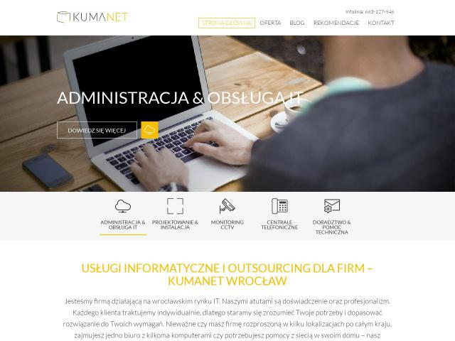 Kumanet - Outsourcing IT Wrocław